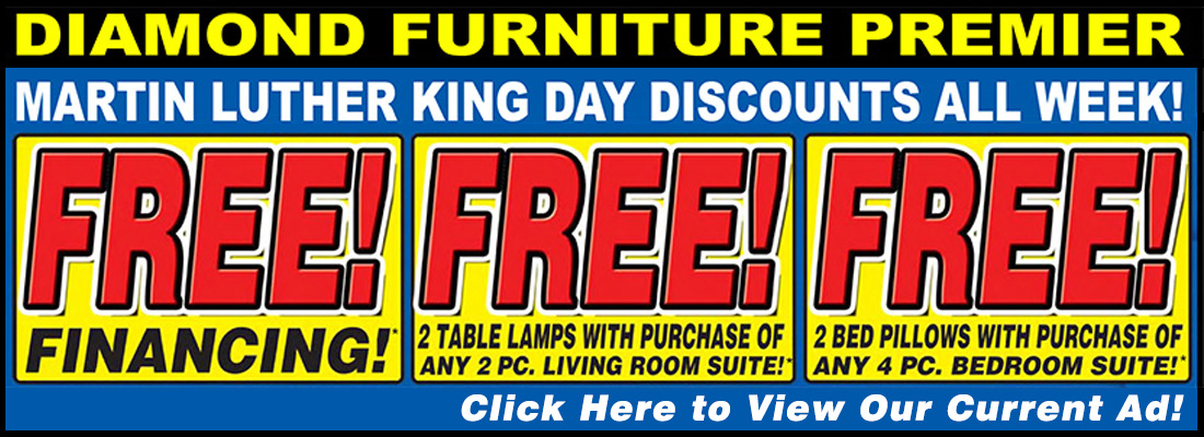 MARTIN LUTHER KING DAY SAVINGS EVENT!