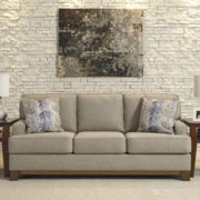 Wood Trimmed Lifestyle Sofa