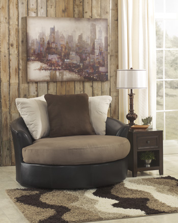 Contemporary Mocha Chair