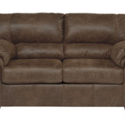Contemporary Coffee Loveseat