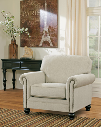 Traditional Classics Linen Chair
