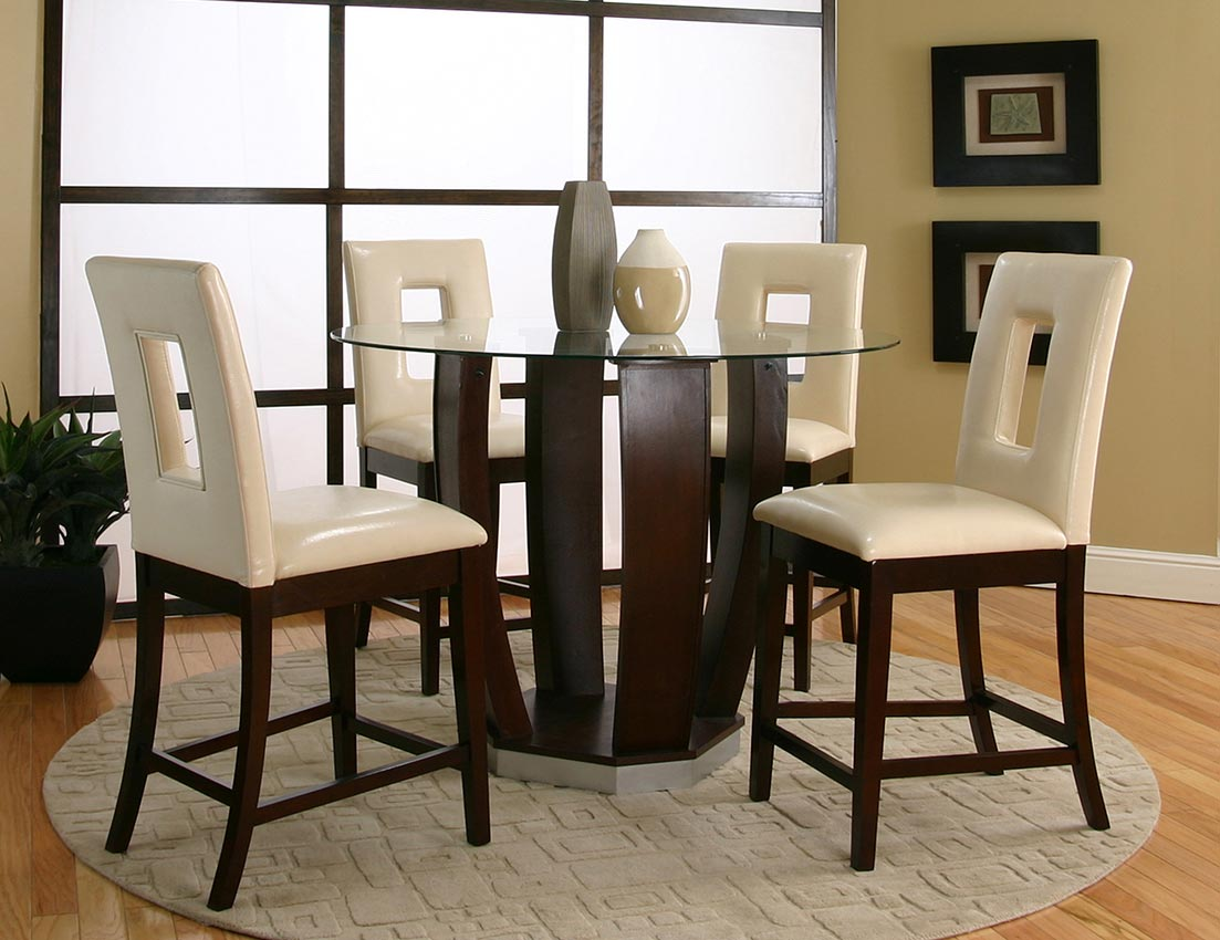 Cherry and Ivory 9pc Pub Dinette